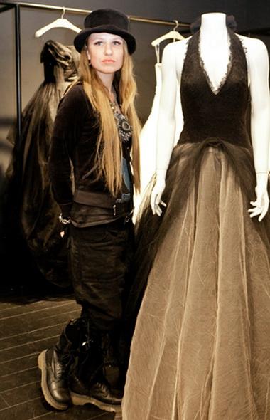 Валерия Гай Германика выбрала свадебное платье