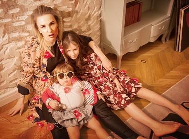 Валерия Гай Германика с дочерьми.