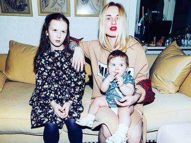 Валерия Гай Германика и ее дети.