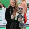 Валерия Гай Германика с собакой.